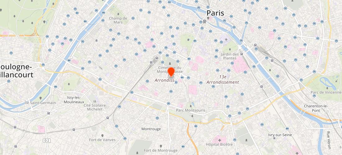 Paris 14E Arrondissement (75014) : Optimisation moteurs de recherche