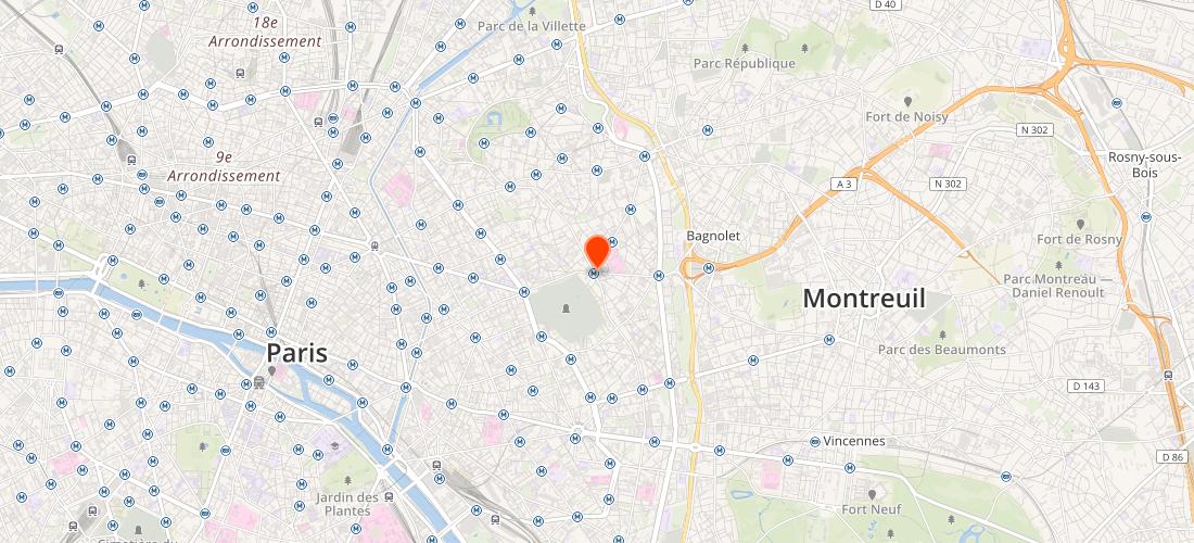 Paris 20E Arrondissement (75020) : Optimisation moteurs de recherche