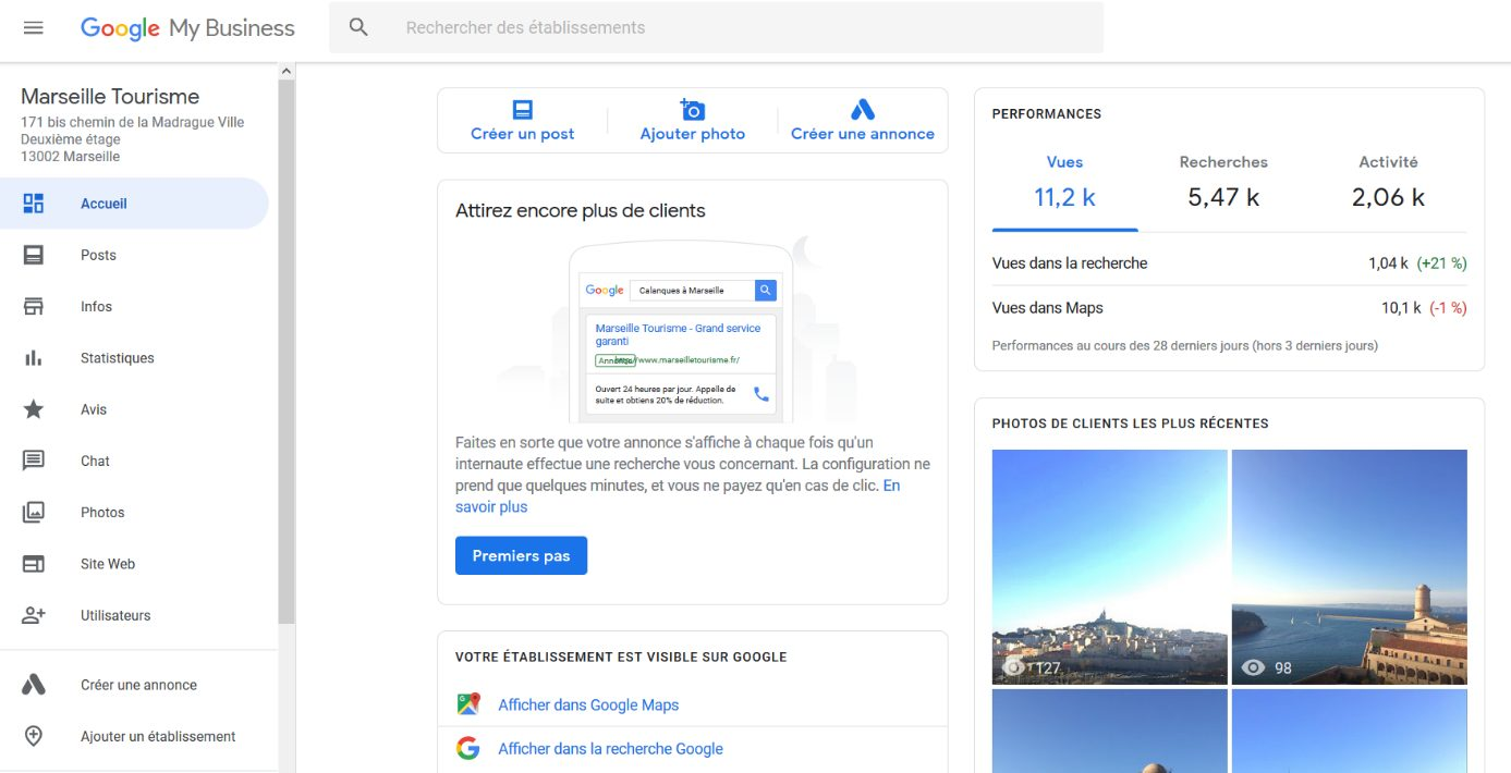 Seo local google mybusiness